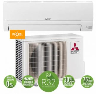 aire acondicionado mitsubishi MSZ HR 50 VF 1x1 4500 frigorías