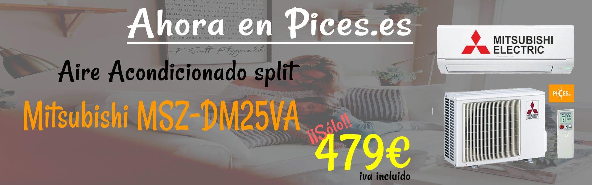 oferta-de-aire-acondicionado-split-mitsubishi-msz-dm25va-por-479€